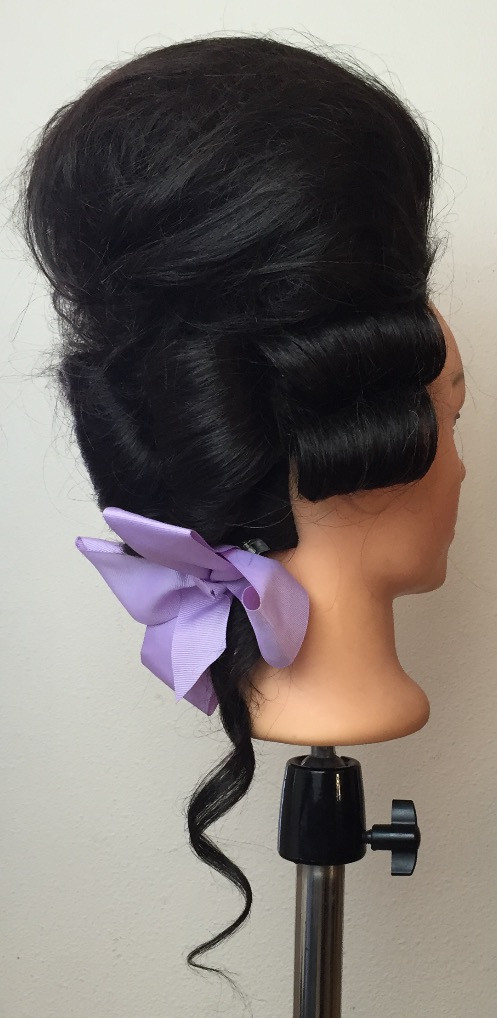 1800s inspired Hairstyle