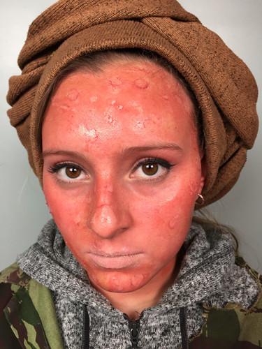 Desert Character Makeup