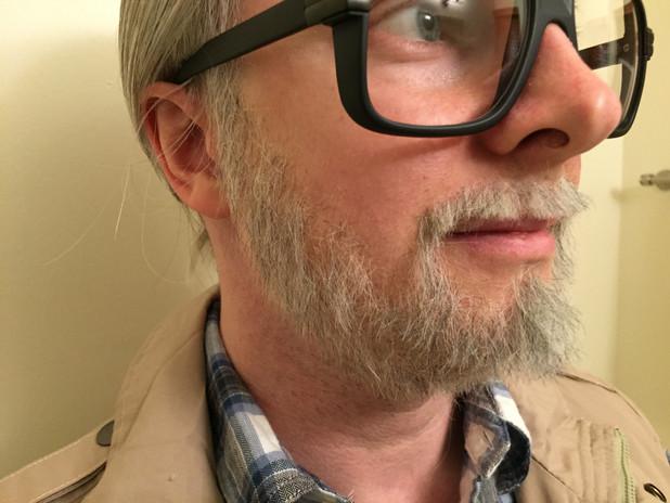 George A. Romero Likeness Makeup