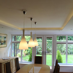 Supalite Conservatory Roof - Inside view