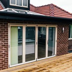 Lantern Roof Glass Doors