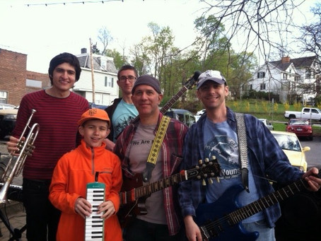 News On The March May 2014 - Bally Family Band Shows