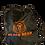 Thumbnail: BLK BEAR DRAW STRING BAG