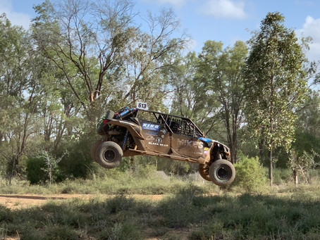 Black Bear Baja Rally tyres making it's mark at the Gundy 400