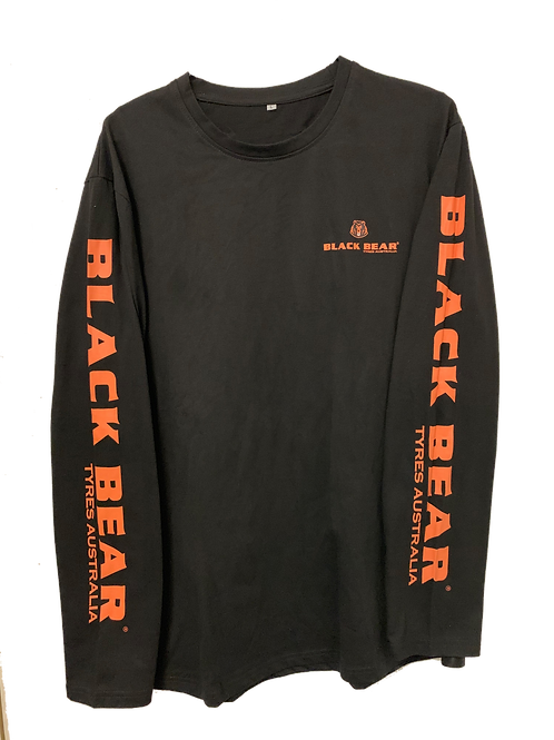 Black Bear Long Sleeve Shirt