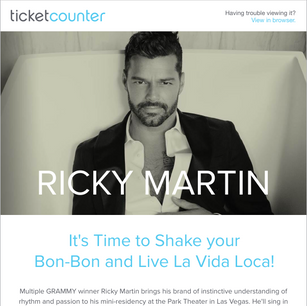Click to View Ticket Counter Ricky Martin Landing Page