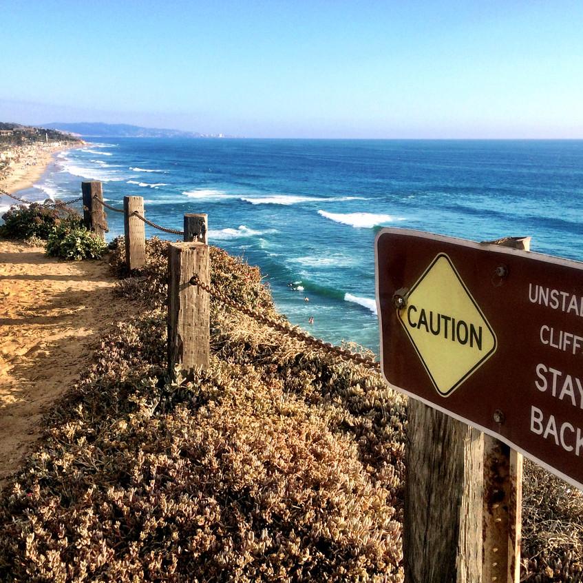 Hiking the Cliffs