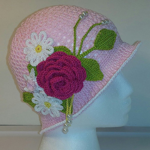 Summer Cloche & Panama Hat (2 patterns)
