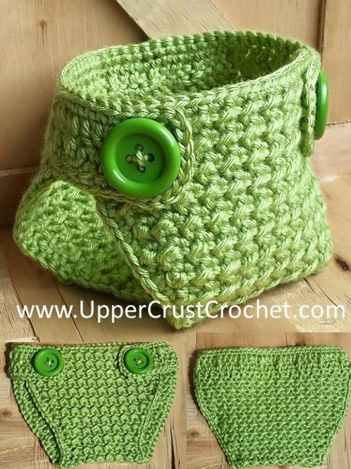 Sweet Pea Diaper Cover