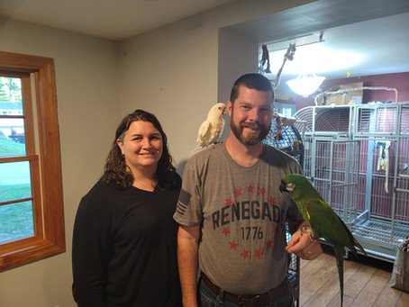 Kiki and Charlie Adopted!