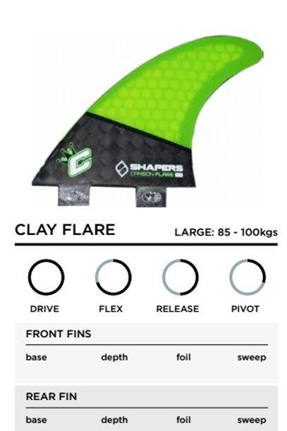 CLAY FLACRE 85-100KILOS FCS