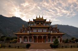 Buddhist monastery in Kullu