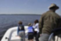Savannah boat tour marsh ecotour