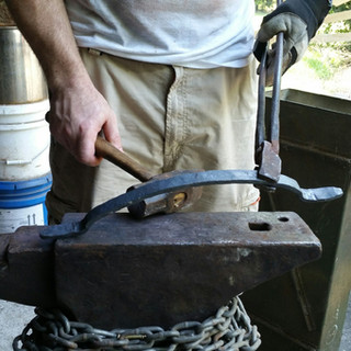 Hand Forged Door Pull