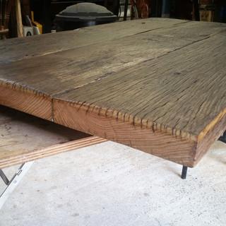 Antique Oak table top