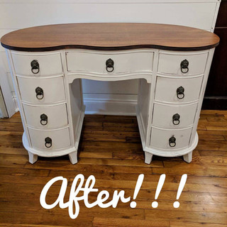 Vanity Refinishing After