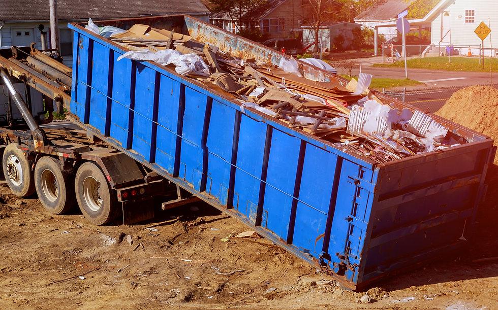 blue-construction-debris-container-fille