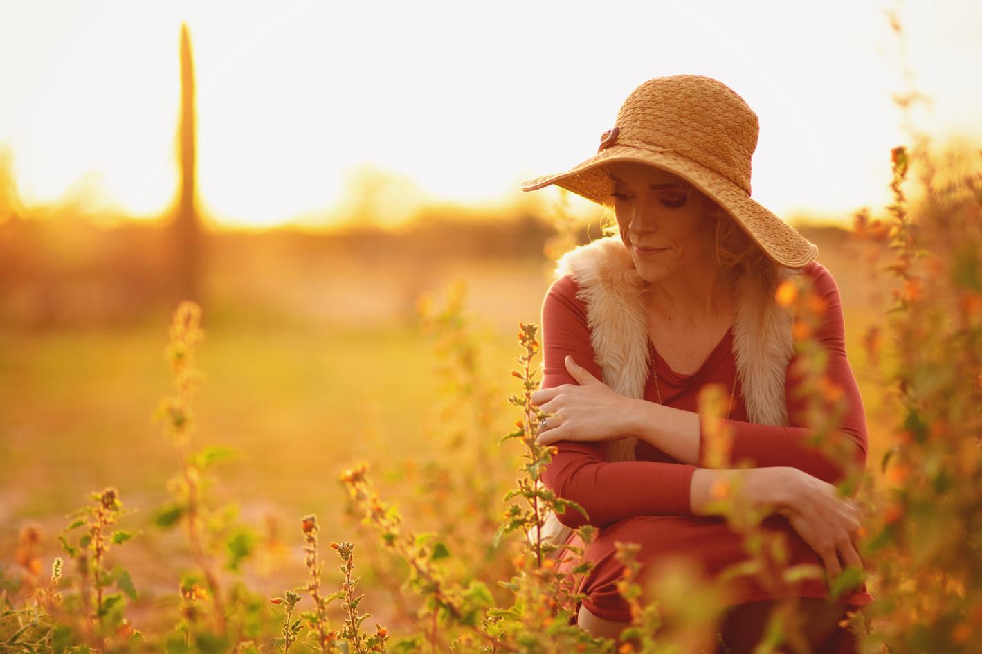 #goldenhour #sunset #boho #desert #arizonadesert