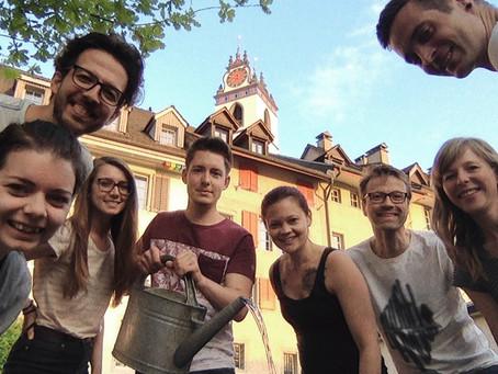 Gründung Garten für Aarau