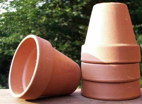 Tontöpfe zum Bepflanzen