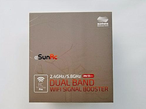 Sunhans 2W DUAL BAND 2.4/5.8GHz eSunRC WiFi Booster
