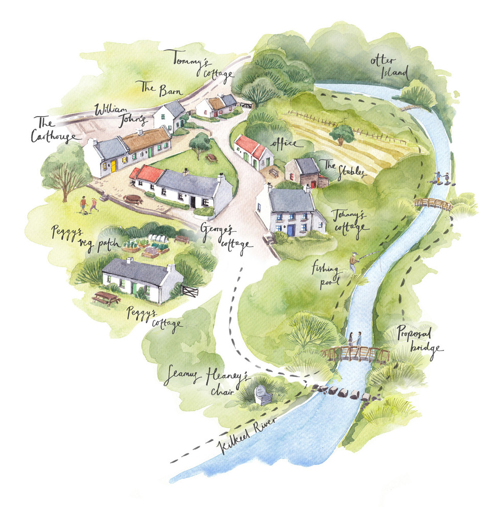 Hanna's Close Illustrated Map for website