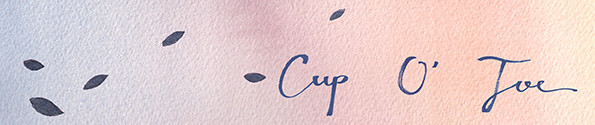 Cup O Joe Banner Illustration