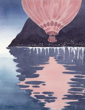 Hot Air Balloon Journey- Lake Geneva