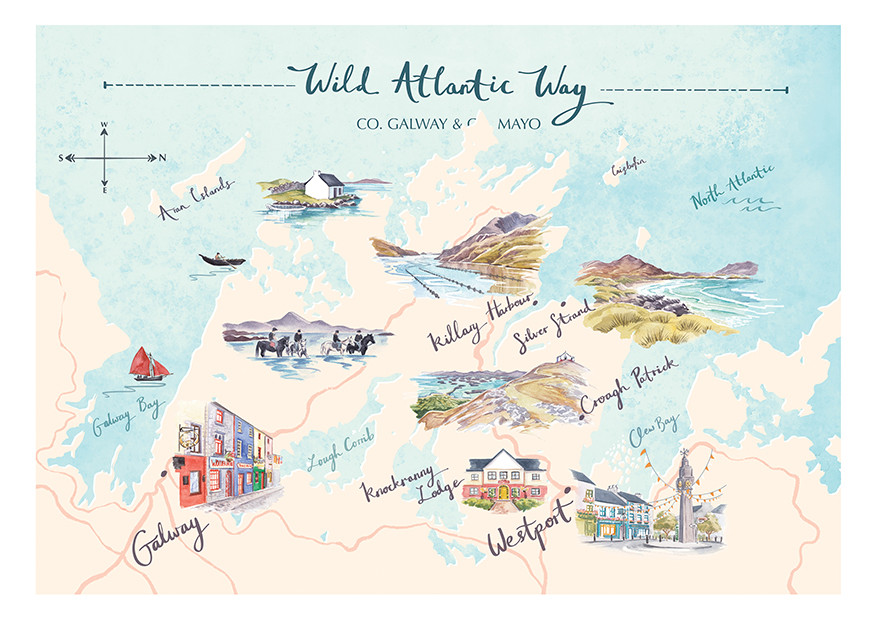 Wild Atlantic Way- Galway Bay