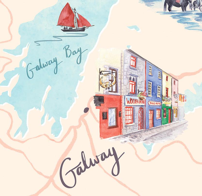 wild-atlantic-way-galway-illustrated-map