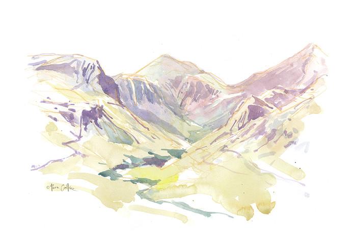 Annalong Valley Plein Air Watercolour