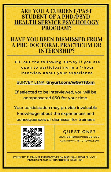 HSP Trainee Dismissal Recruitment Poster