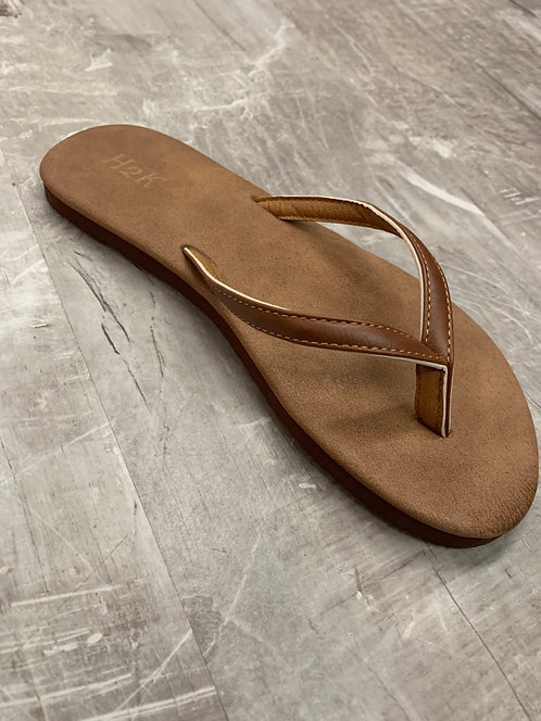 Arlington brown flip flop