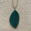 Thumbnail: Woven leaf necklace