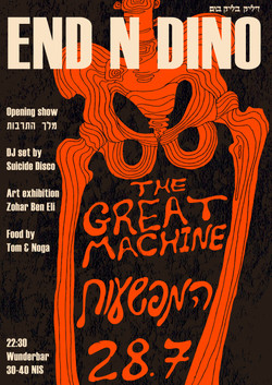 Poster for END N DINO event