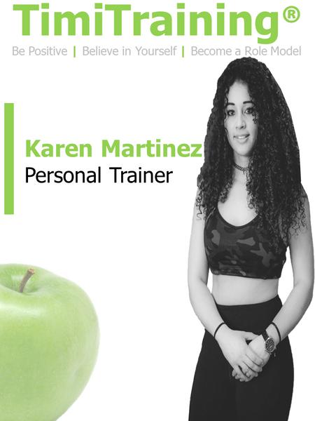 Karen Martinez   TimiTraining