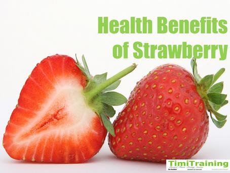 Health Benefits of Strawberry🍓