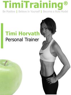 Timi Horvath | TimiTraining