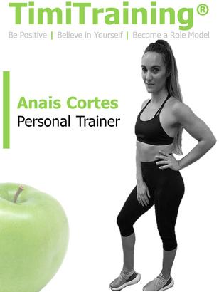 Anais Cortes Personal Trainer | TimiTraining
