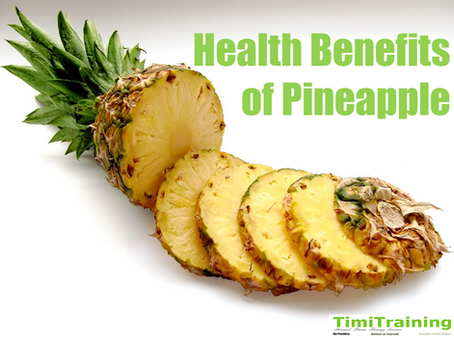 Health Benefits of Pineapple🍍