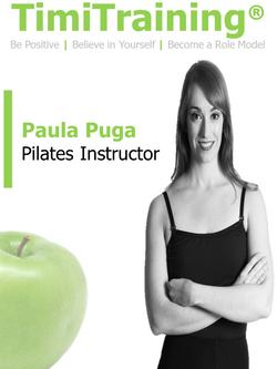 Pilates Instructor Belgravia