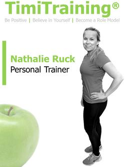 Nathalie Ruck | TimiTraining
