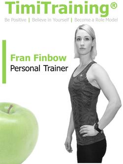Personal Trainer Kensington