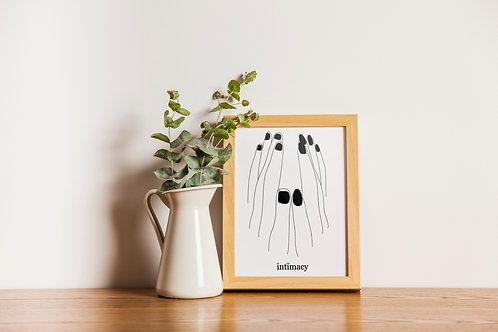 Intimacy Digital Print