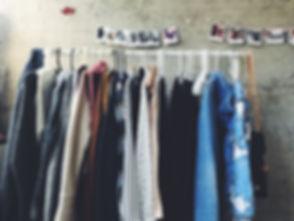 offene Garderobe