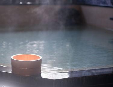 源泉かけ流しの温泉