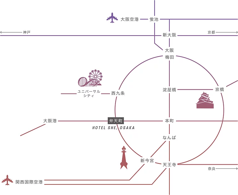 osaka loop line, kanjo line