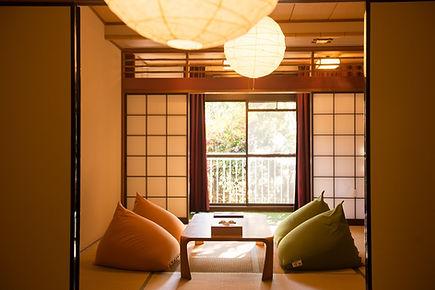 Yogibo完備の客室
