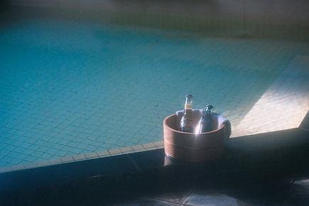 源泉かかけ流しの温泉