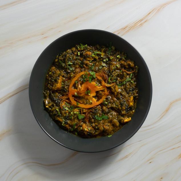 Tawa Sagwala Chicken